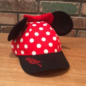Minnie Mouse Ball Cap With Ears